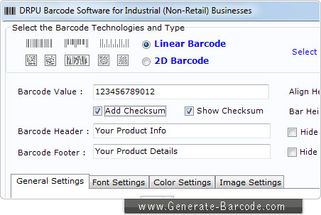 Industrial Manufacturing Barcode Software