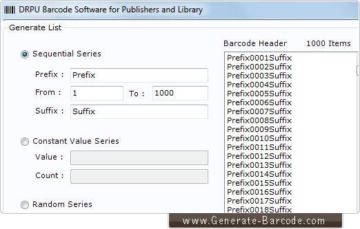 Library Barcode Software