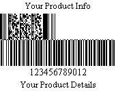 Databar Code 128 Set A