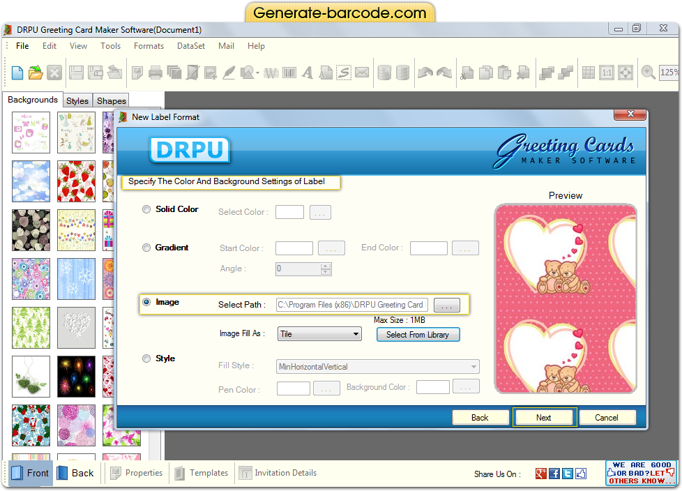 greeting card maker software