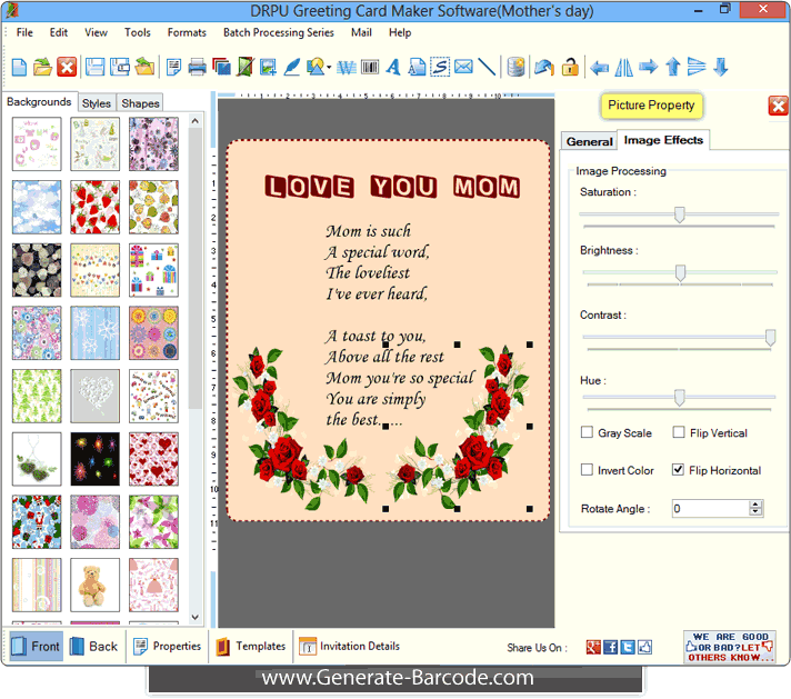Greeting card maker software generate holiday cards generate greeting card maker software m4hsunfo